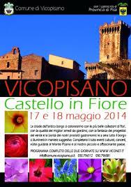 Castello in fiore 2014 vicopisano
