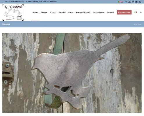 new web site le carabattole